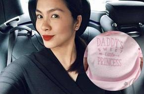 Hình ảnh đầu tiên về công chúa nhỏ nhà Tăng Thanh Hà