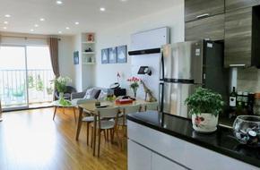 Chỉ vỏn vẹn 65m² nhưng căn hộ này cũng đủ để chủ nhân rời phố lớn trung tâm Hà Nội về ở chung cư