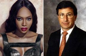 """""""Báo đen"""" Naomi Campbell bí mật hẹn hò với triệu phú U70"""