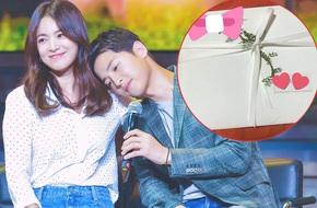 Tấm thiệp cưới được mong chờ nhất của Song Joong Ki và Song Hye Kyo đã xuất hiện?