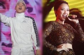 Sơn Tùng - Tóc Tiên đội mưa lớn, hào hứng nhảy cùng hàng ngàn khán giả