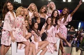 Tận tối mới diễn, nhưng giờ các thiên thần Victoria's Secret đã bắt đầu trang điểm, làm tóc