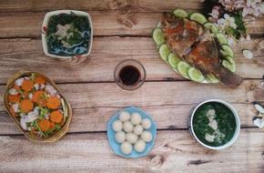 Thực đơn cơm tối chưa tới 90k mà đủ cá thịt rau siêu ngon
