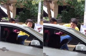 Hà Nội: Người đàn ông hung hãn tấn công nữ tài xế