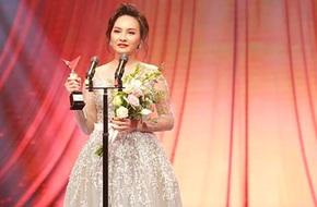 Nhận giải VTV Awards, Bảo Thanh xúc động: Cám ơn chồng vì đã luôn ở bên em!