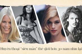 Khi giới thời trang hoang mang bởi những 'bộ xương' di động, hãy cùng nhìn lại thế hệ siêu mẫu vàng tràn đầy sức sống