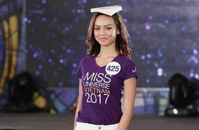Sau ồn ào rút khỏi cuộc thi, hình ảnh Mai Ngô mất hút ở Hoa hậu Hoàn vũ 2017