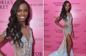Chân dài Victoria's Secret diện đầm của NTK Lê Thanh Hòa lên