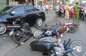 Có 14 người chết vì tai nạn giao thông trong ngày Quốc khánh