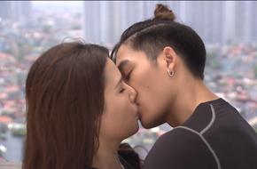 Mặc mẹ ngăn cấm, Bạch Kim vẫn ôm hôn Du