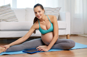 4 bài tập đơn giản giúp mẹ bầu sinh nở dễ dàng