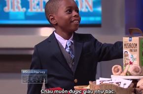 Cậu bé 7 tuổi gây sốc khi đòi trở thành tỷ phú giống Steve Harvey