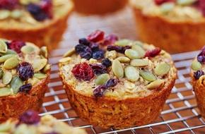 Bữa sáng dinh dưỡng mà lành mạnh với bánh muffin siêu ngon