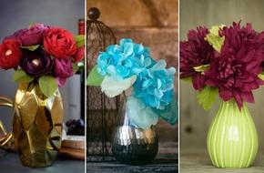 3 cách làm hoa giấy sắc màu trang trí đón Tết về