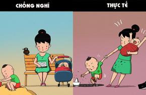 Thực tế trần trụi các mẹ sẽ trải nghiệm khi nghỉ thai sản