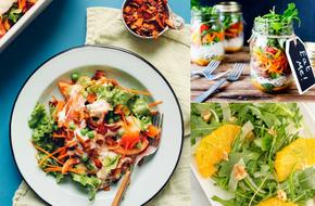 Muốn giảm cân hiệu quả, bạn không thể bỏ qua 5 món salad cực ngon này