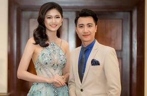 Á hậu Thanh Tú sánh đôi cùng thầy giáo đẹp trai của Hoa hậu Mỹ Linh