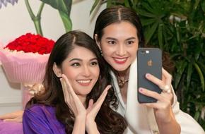 Á hậu Thùy Dung tranh thủ làm đẹp trước khi lên đường thi Hoa hậu Quốc tế