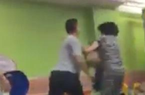 Hà Nội: Chồng tát liên tiếp vào mặt vợ trước mặt con tại khu vui chơi thiếu nhi