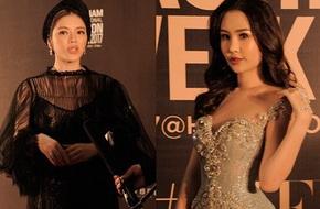 VIFW ngày cuối: Hoa hậu Đại Dương Ngân Anh xuất hiện khoe vóc dáng nuột nà và môi không còn tều như ngày đăng quang