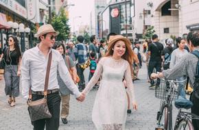 Chuyện tình 'siêu tốc' đến giật mình của cặp đôi mạnh tay chi 1 tỷ đồng đi 4 nước chụp ảnh cưới