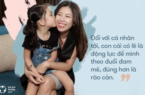 Tô Hồng Vân - bà mẹ quyết đổi nghề khi đã có 3 con: Bởi đam mê luôn nằm trong tim