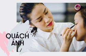 'Phù thủy make up' Quách Ánh: Nhiều người cứ tưởng nghề trang điểm chỉ là tô son, trát phấn lên mặt người khác...