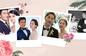 Sự khác biệt trong đám cưới người nổi tiếng: Sao Hàn kín đáo giản dị, sao Trung khoa trương hoành tráng