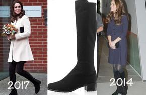 Diện lại boots từ 3 năm trước, công nương Kate khiến nhiều người ngưỡng mộ vì cách kết hợp rất trendy