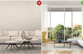 8 sai lầm phổ biến và giải pháp khắc phục khi trang trí phòng khách