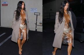 Chán 'bức tử vòng 1', cô Kim siêu vòng 3 lại can đảm diện váy trong suốt