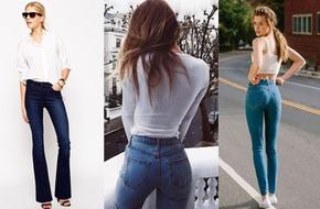 Vóc dáng mình thế nào thì mình chọn quần jeans như thế!