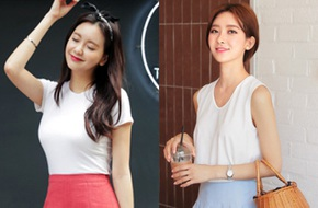 Áo phông trắng, ngay từ thiết kế tối giản đã có tới 5 phiên bản khác nhau nhé!