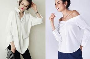 5 kiểu biến tấu giúp áo sơmi trắng chẳng còn vô vị và nhàm chán nữa