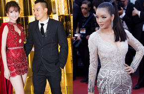 Váy của NTK Việt được các người đẹp mặc trên thảm đỏ quốc tế làm nức lòng khán giả quê nhà
