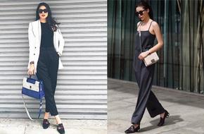 Chẳng nói chẳng rằng, sao Việt rủ nhau mặc toàn đồ đen - trắng trong street style tuần này