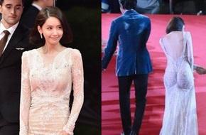 Lần đầu tiên diện đầm hở bạo, Yoona đã bị soi vì váy ôm sát vô tình khiến vòng 3 trở nên nhạy cảm