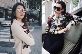 Cùng diện đồ Gucci nhưng Phạm Hương và Hà Hồ lại chọn hai phong cách khác hẳn nhau
