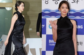 Yoona sụt giảm phong độ nữ thần với bộ đầm như