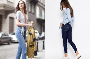 Muốn mặc skinny jeans lên dáng nhất, bạn đừng xem nhẹ 4 chi tiết nhỏ sau