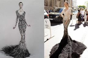 Chiếc đầm đẹp nhất của Lý Nhã Kỳ tại Cannes: