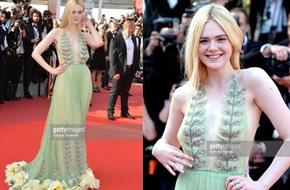 Elle Fanning diện váy hoa Gucci đẹp tựa