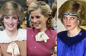 Luôn trung thành với mái tóc ngắn nhưng Công nương Diana luôn biết cách biến hóa cho kiểu tóc của mình thêm đa dạng