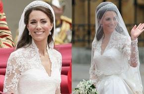 10 điều bí mật làm nên sức hút vượt thời gian của mẫu váy cưới mà Công nương Kate mặc