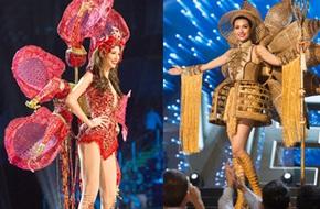 Ngắm nhìn những bộ trang phục truyền thống lộng lẫy, cầu kỳ nhất đêm Chung kết Hoa hậu Hoàn Vũ 2017