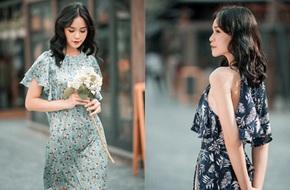 Những thiết kế váy hoa dịu dàng khiến bạn nhìn một cái là