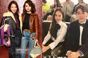 Jessica diện áo trắng quần đen đơn giản nhưng vẫn nổi bật tại Tuần lễ thời trang New York