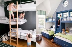 11 mẫu giường tầng đẹp, gọn cực đáng tham khảo cho những gia đình nhà chật mà đông con