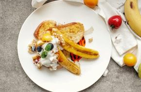 Bữa sáng ngon đẹp như Tây chỉ với món bánh mì làm trong 10 phút