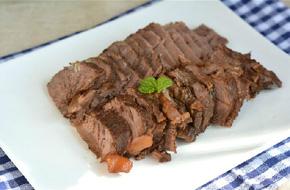 Món ngon cuối tuần: Bắp bò om xì dầu